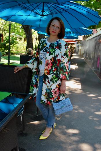 Літнє пальто - флешмоб в Одесі