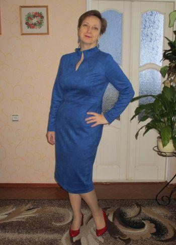 Блакитна сукня без історії