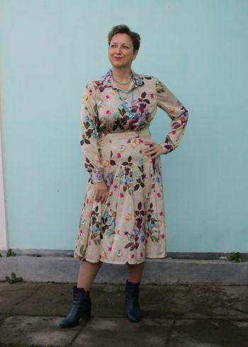 Осіннє-весняна сукня