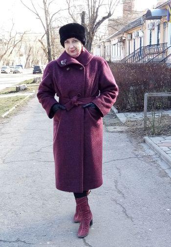 "Вінтажне пальто ""Кім"""