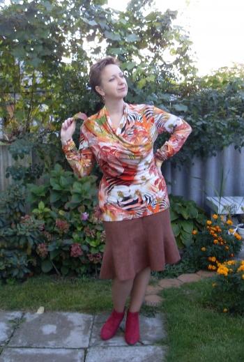 Шалений осінній сад:-)