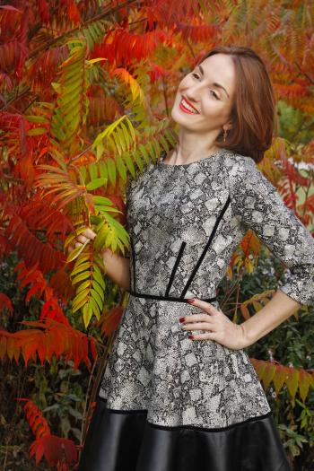 Сукня Золота осінь