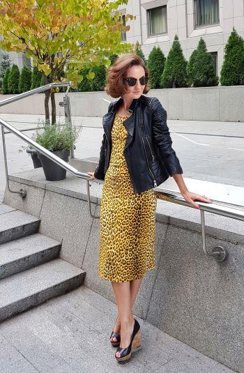 Сукня-леопардик