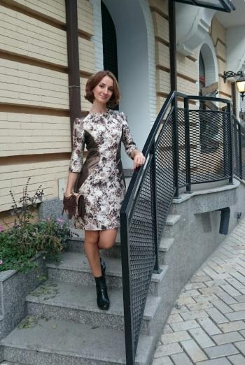 Сукня зі вставками