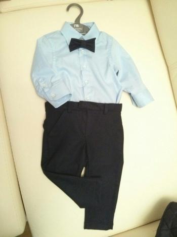 рубашка и штаны для сыночка на 10 месяцев)