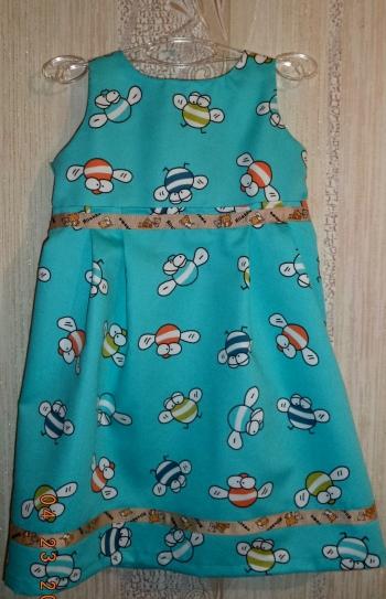 Мини-коллекция детских платьев