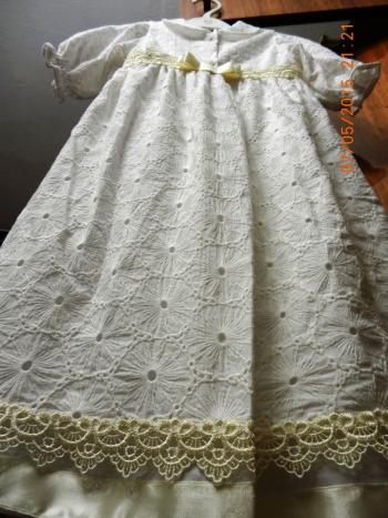 Сукня хрестильна та чепчик