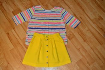 Спідниця та блуза для дівчинки
