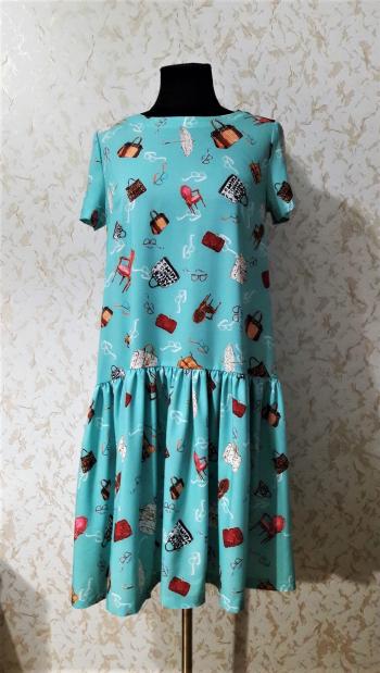 Сукня з віскози дівчача