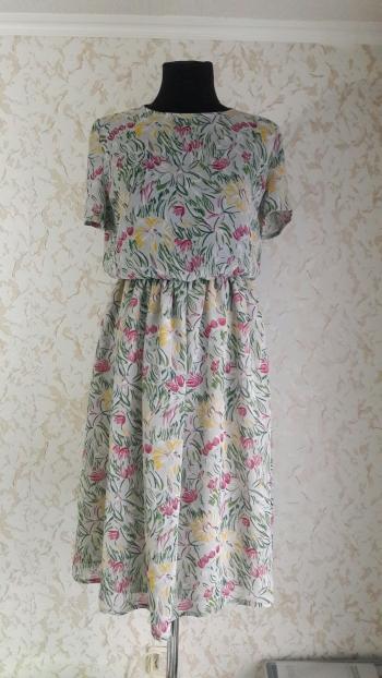 Сукня літня з жоржету