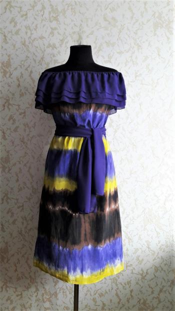 Сукня з шовкового батисту