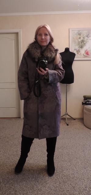 Затишне зимове пальто