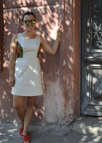 Сукня з кавунчиками