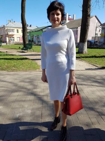Сукня ''Молочний блюз...''