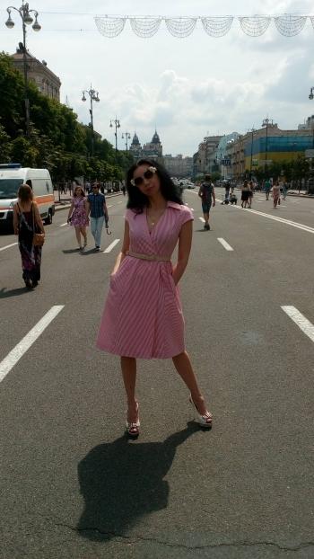 #хочувжурнал  Ретро-сукня
