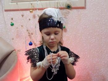 """Маленькая """"Одри"""" или ретро стиль для принцесс )))"""