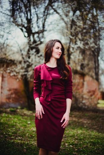 Сукня з воланом - хіт весни 2016