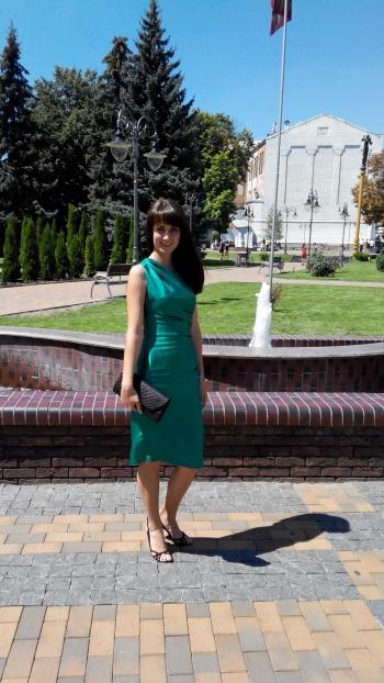 Моє смарагдове плаття