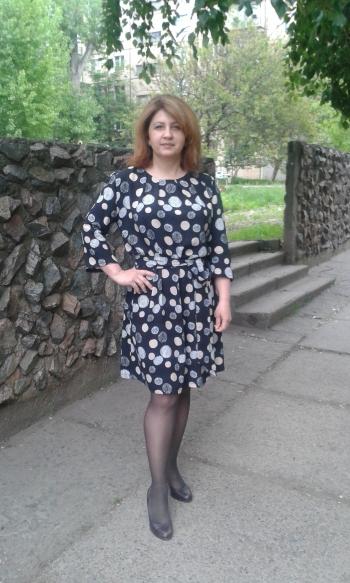 Сукня в горохи