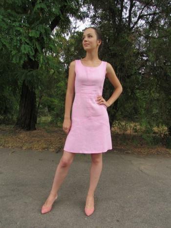 "Літня сукня - ""Пазли"""