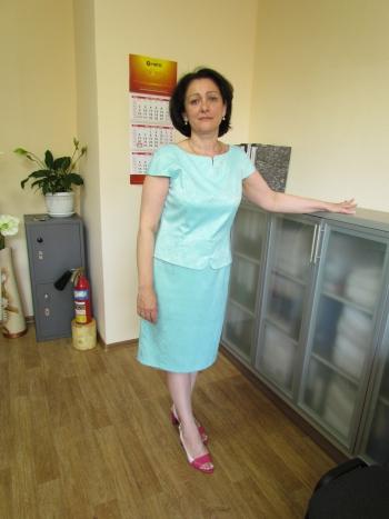 Сукня кольору Тіффані