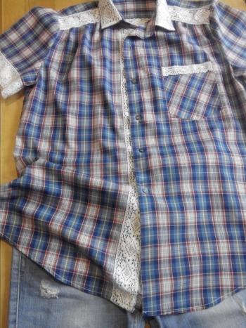 Новая жизнь мужской рубашки