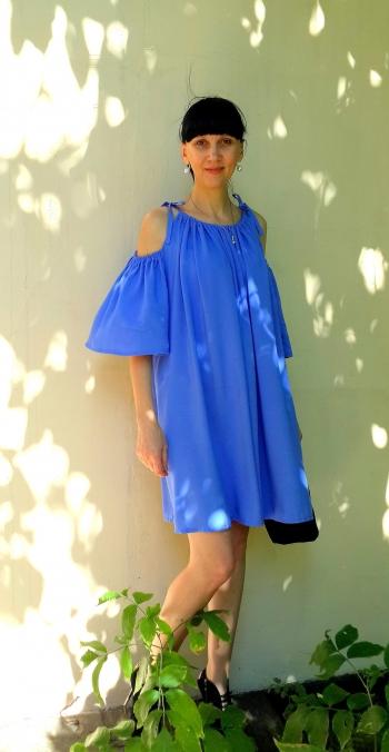 #хочувжурнал Сукня кольору ламантін