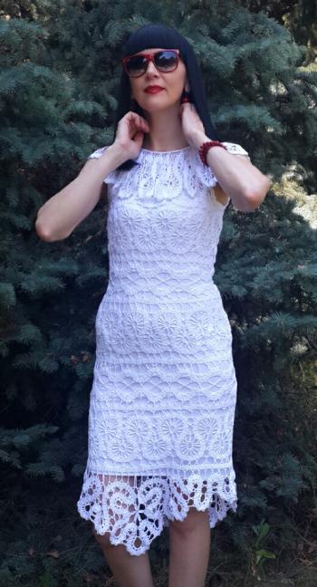 В'язана сукня-сарафан