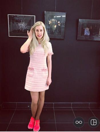 Сукня в стилі Шанель