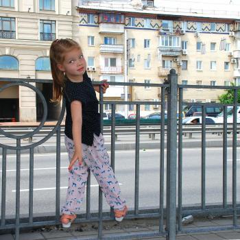 Прогулянки містом, або Брюки в піжамному стилі