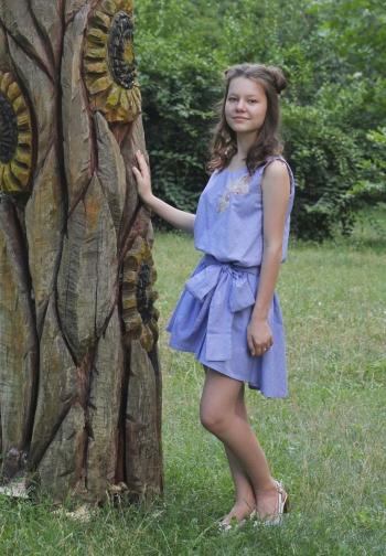 Літня сукня для сестрички