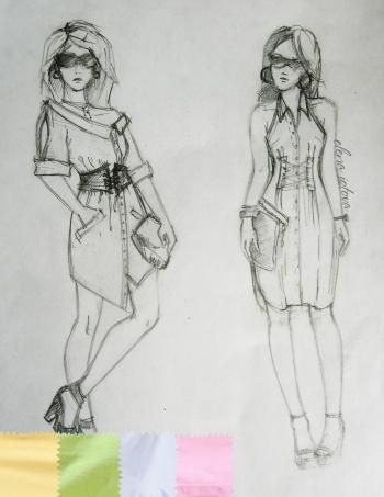 Сукні-сорочки для #мріядизайнера