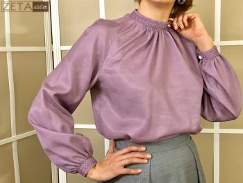 три блузки за однією викрійкою