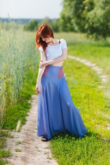 #хочувжурнал Спідниця феї в кольорах Pantone