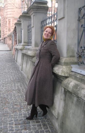 Пальто у стилі ретро