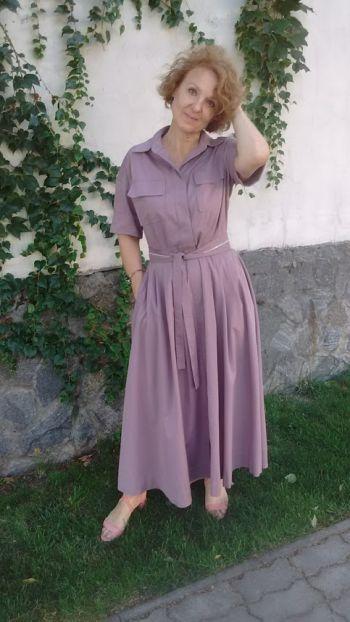 Подсмотренное платье