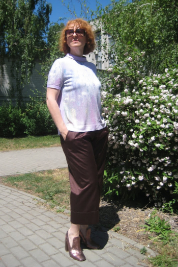 Блуза на задоволення
