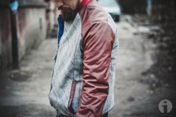 Чоловіча куртка: Перший раз по викрійці з Burda