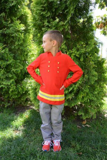 Куртка для костюма пожежника