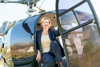 """Костюм до флешмобу """"Осінь. Дівчина. Літак"""""""