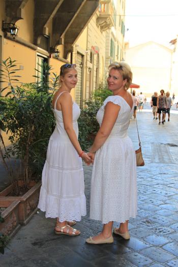 Мереживна Флоренція. Сукні