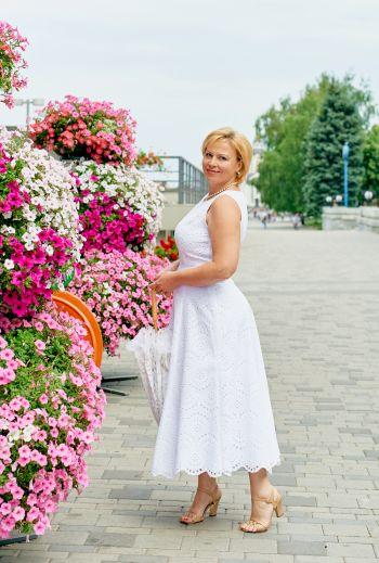 Літня біла сукня 2019