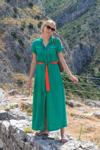 Сукня в колоніальному стилі