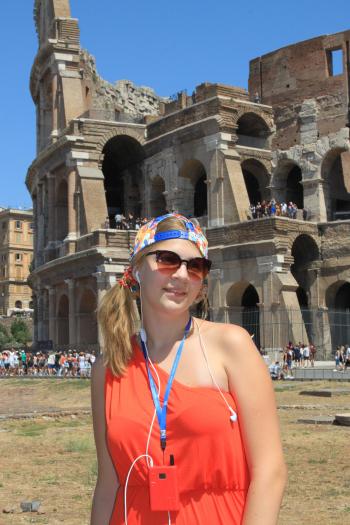 Сукня. Колізей Палатин Римський Форум Частина 1