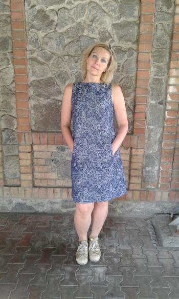 Сукня приталеного силуету