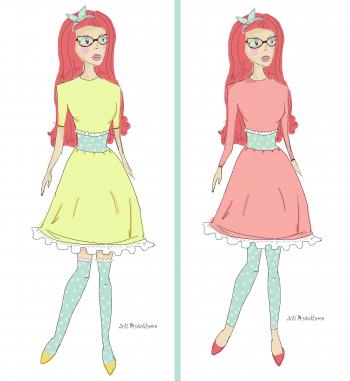 Ескізи сукні для #мріядизайнера