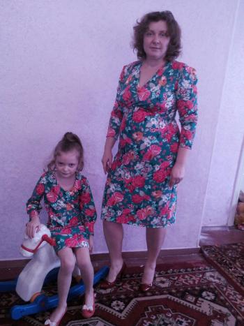 """Фемілі лук - сукні """"Квіткова  прогулянка"""""""