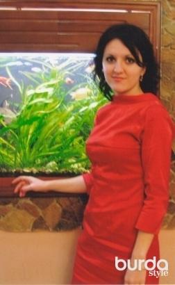 Червона вечірня сукня 11/2009 103