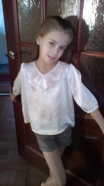 Нiжна блуза для дiвчинки