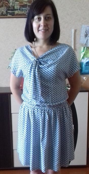 Сукня з бантом